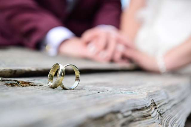 anneaux or blanc alliances mariage
